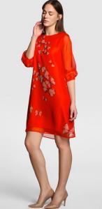 Vestido rojo de Antea