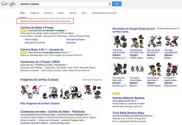 Carritos de bebé de 3 piezas: resultados Google