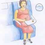 Lo que no debe faltar en tu maleta si viajas embarazada