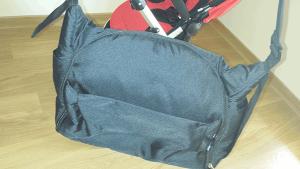 Bolsa portapañales del Ibaby One incorporada