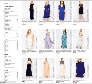 Catálogo Asos ropa de premamá