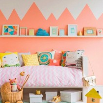 Paisaje montañoso dormitorio bebé
