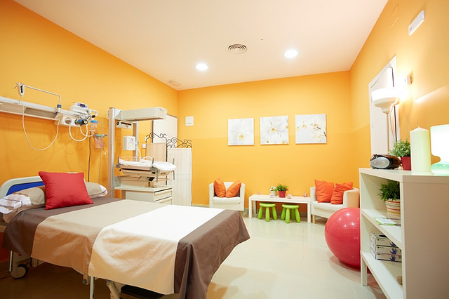 Sala de partos naturales