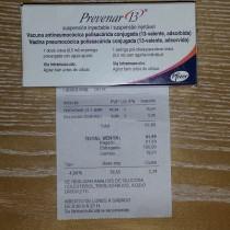 Vacuna prevenar 13 precio