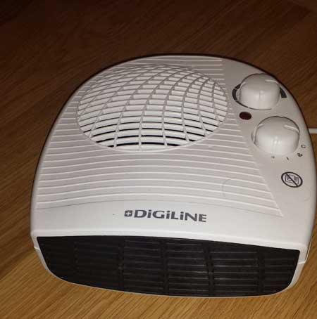 Calefactor habitación bebé