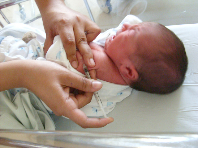 Primeras vacunas del bebé