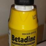 ¿Puedo usar betadine si estoy dando el pecho?