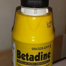 Betadine y lactancia materna