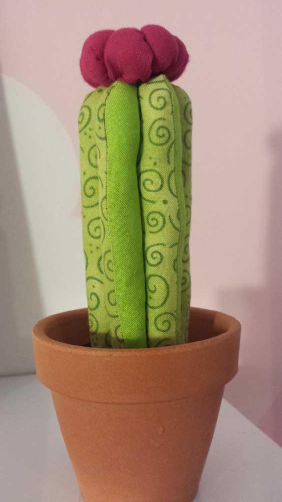 Cactus de tela DIY habitación bebé