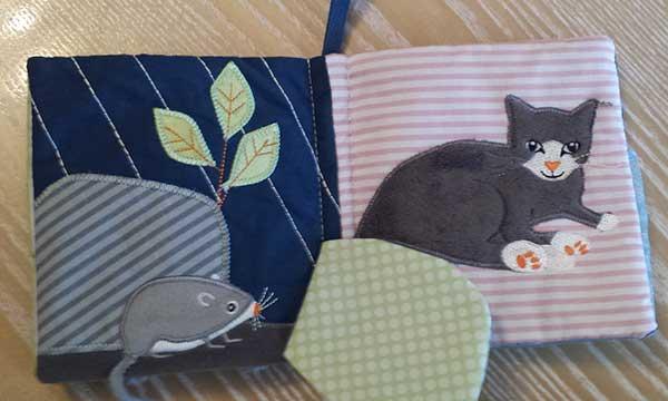 Libro Ikea bebé gato