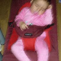 Bebé duerme en la hamaquita