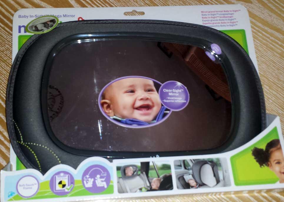 Retrovisor de coche para bebé de Munchkin