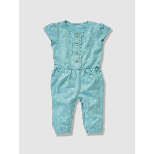 Mono de punto de bebé azul claro
