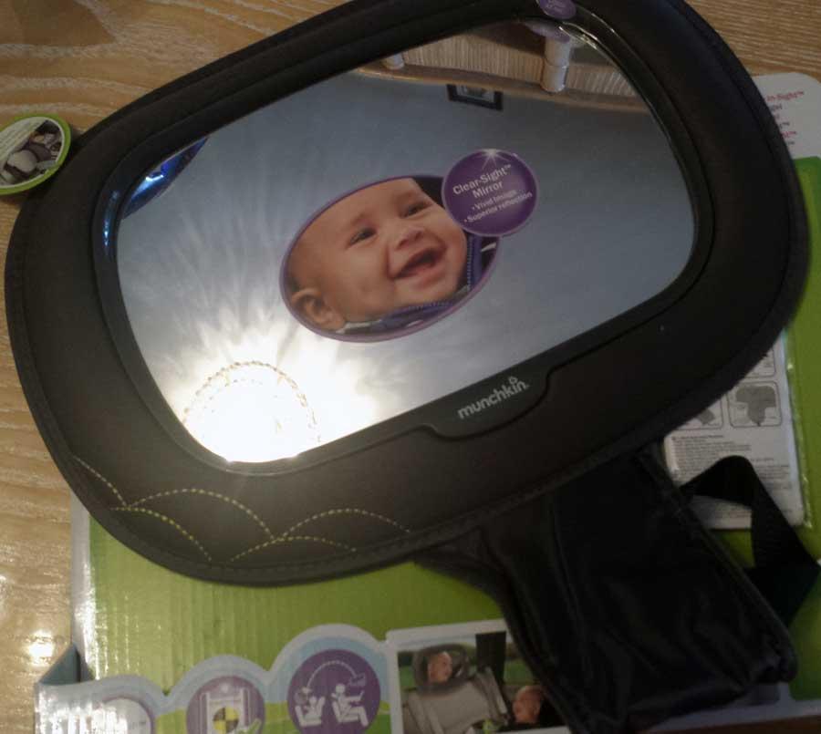 Espejos retrovisores de coche para beb s for Espejo retrovisor bebe