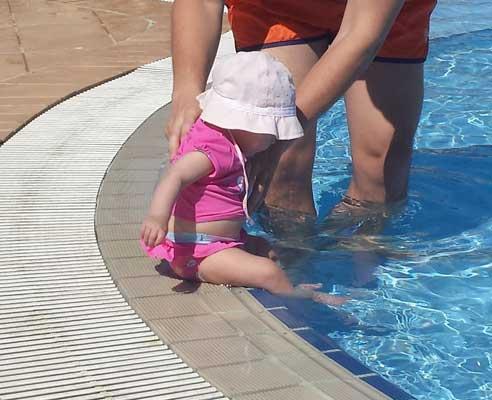 Gorro de verano para bebé