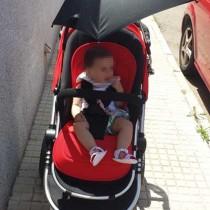 Sombrilla carrito bebé Ibaby One