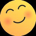 Interpretar las emociones: cara contenta